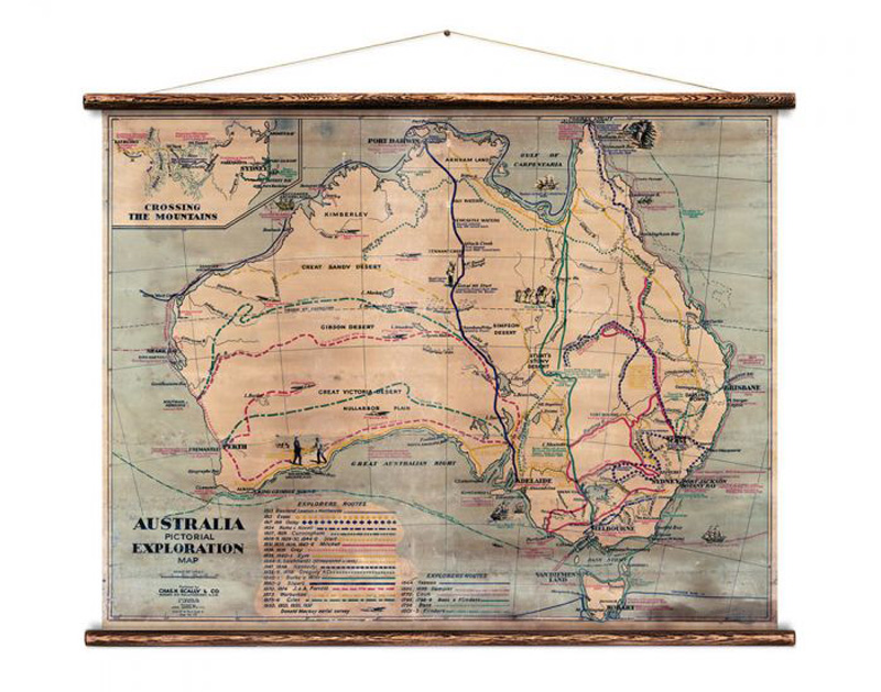 Erstwhile Vintage Maps & Prints