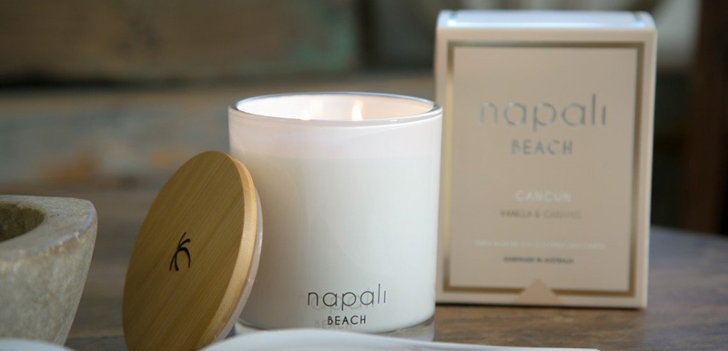 Napali Beach Fresh Scented Candles & Diffusers
