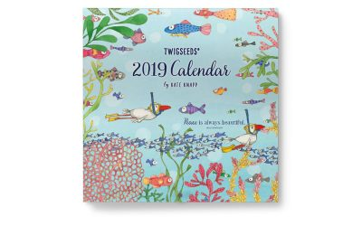 Get Your 2019 'Twigseeds' Calendar Before They're All Gone