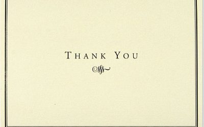 Peter Pauper Press Thank You Cards