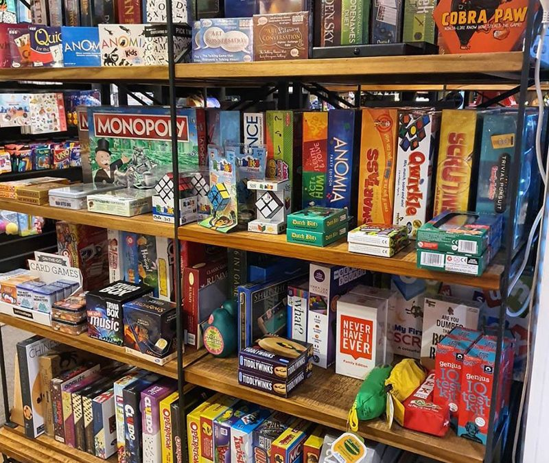 Games, Games, Games – For All The Family!