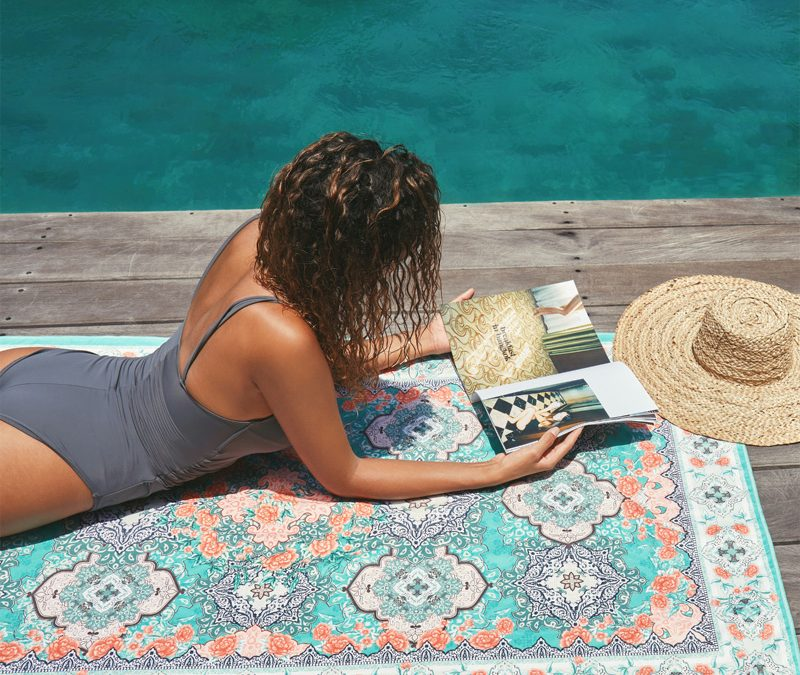 Head To The Beach With A SomerSide Towel