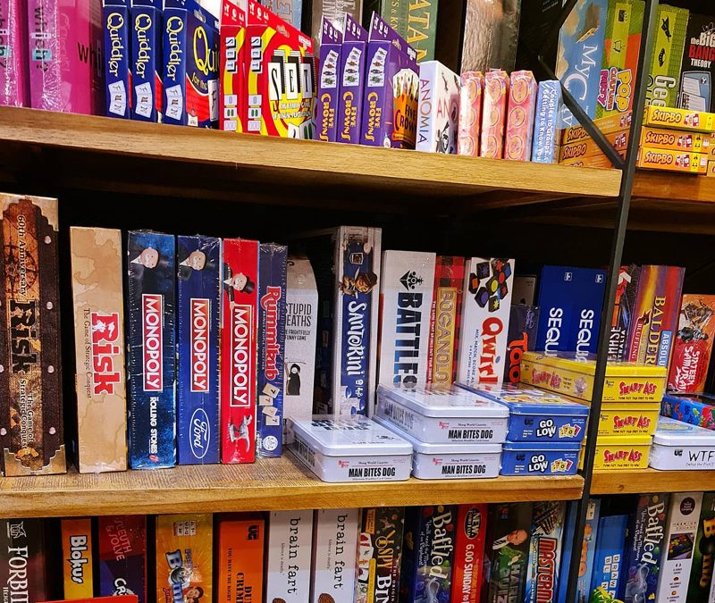 Games Galore! Something For The Entire Family