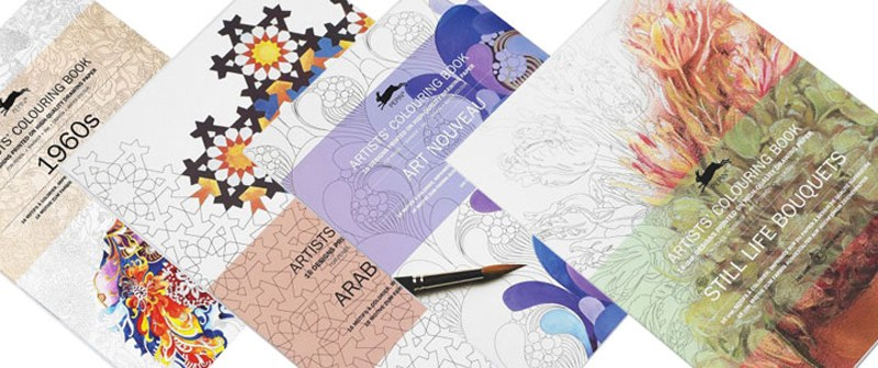 Pepin Adult Colouring Books!