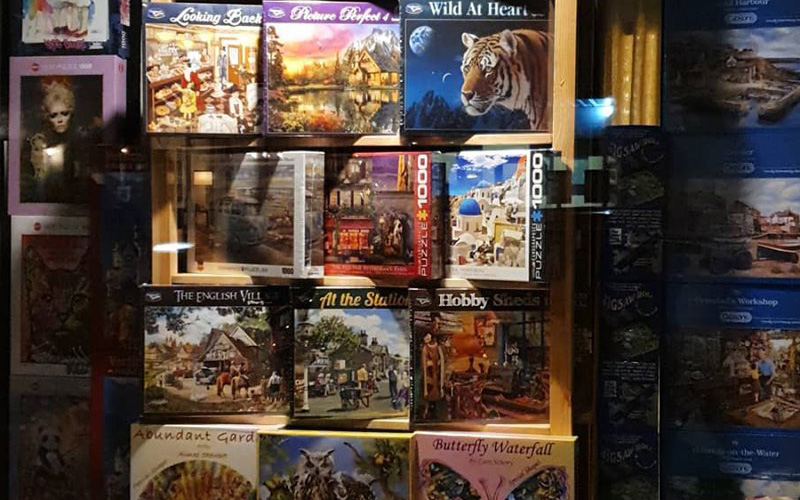 100's Of New Jigsaws – Perfect For Chilly Nights