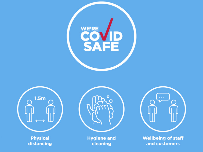 We Are A Covid Safe Registered Business