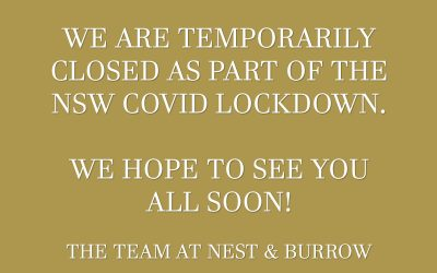 Temporarily Closed Due To The NSW Covid Lockdown